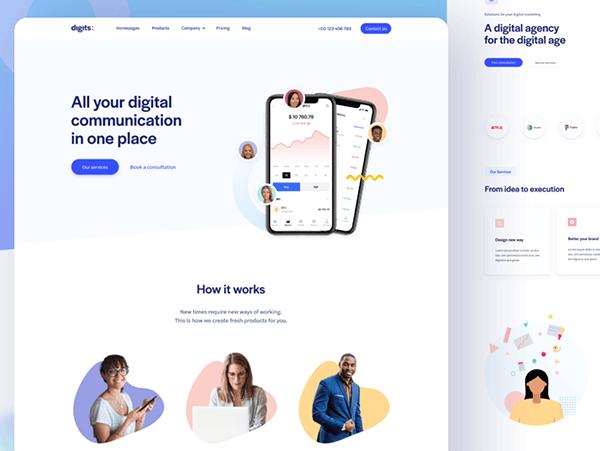 Digital communication App